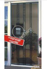 JKH Rovarvédő függöny üvegszálas mágneses 3 részes sínes 90 x 215 fekete 8911327