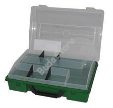 JKH Műanyag táska 3+3-4 fakkos zöld 5982355