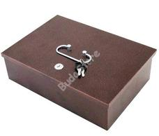 JKH Pénzkazetta hordozható 16,5 X 7,5 X 14 kicsi barna 3490501