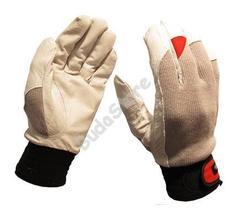 GUIDE Védőkesztyű bőr tenyér sztreccs kézfej 43 10 6700195