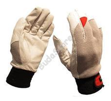 GUIDE Védőkesztyű bőr tenyér sztreccs kézfej 43 9 6700191