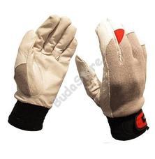 GUIDE Védőkesztyű bőr tenyér sztreccs kézfej 43 11 6700051