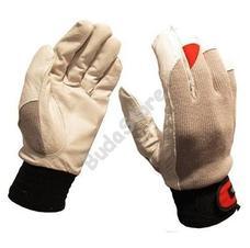 GUIDE Védőkesztyű bőr tenyér sztreccs kézfej 43 8 6700050