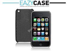 Apple iPhone 3G/3GS hátlap Air fekete Eazy Case 41-DZ-195