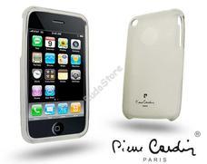 Apple iPhone 3G/3GS szilikon hátlap fehér Pierre Cardin 41-LMIP3-WT