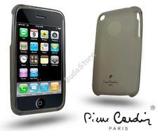 Apple iPhone 3G/3GS szilikon hátlap fekete Pierre Cardin 41-LMIP3-BK