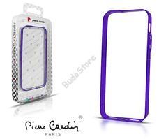Apple iPhone 5 védőkeret Bumper lila Pierre Cardin 41-BCBPPP-IP5
