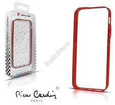 Apple iPhone 5 védőkeret Bumper piros Pierre Cardin 41-BCBPRD-IP5