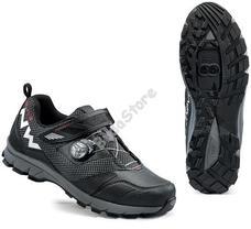 NORTHWAVE ALL TERRIAN MISSION PLUS Cipő 45-ös fekete 80163031-10-45