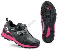 NORTHWAVE ALL TERRIAN MISSION PLUS női Cipő 41-es fekete/fukszia 80163030-09-41