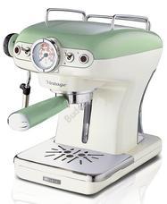 ARIETE Vintage eszpresszó kávéfőző 15 bar zöld 1389.GR