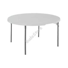 LIFETIME Kerek félbehajtható asztal D=122cm 3121566