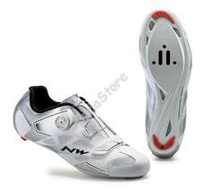 NORTHWAVE ROAD SONIC 2 PLUS kerékpáros cipő fehér/ezüst 42-es 80161013-58-42