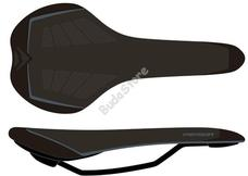 MERIDA bicikli nyereg Sport PRO fekete/szürke