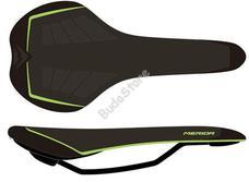 MERIDA bicikli nyereg Sport PRO fekete/zöld