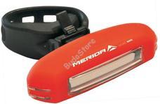 MERIDA ME16 hátsó biciklilámpa USB led 3 funkció HL-MD052