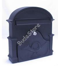 JKH Postaláda öntvény VICA 33cm fekete 3490165