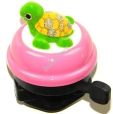 Csengő gömb rózsaszín teknősös 28095