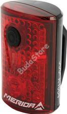 MERIDA hátsó lámpa SAFETY 3LED USB 4 funkció fekete 2128001737