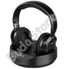 THOMSON WHP3001B vezeték nélküli fejhallgató fekete 131957