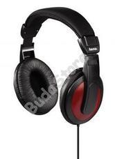 HAMA 135618 HK5618 Sztereó fejhallgató HK-5618 fekete/piros