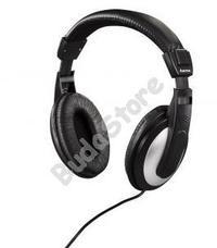 HAMA 135619 HK5619 Sztereó fejhallgató fekete/ezüst HK-5619