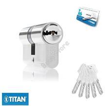 TITAN I6 zárbetét 30/35mm matt nikkel fúrásv. 5K fúrt kulcs 3286611