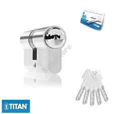 TITAN I6 zárbetét 35/45mm matt nikkel fúrásv. 5K fúrt kulcs 3286616