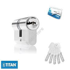 TITAN I6 zárbetét 40/40mm matt nikkel fúrásv. 5K fúrt kulcs 3286617