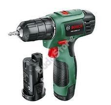 Bosch PSR 1080 Li-2 kétsebességes akkus fúrócsavarozó 2 akku 1,5Ah kofferben PSR1080 06039A2101