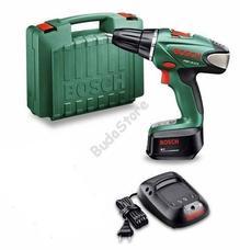 Bosch PSR 18 LI-2 lítium-ion akkus fúrócsavarozó gyorstöltő 2,5Ah kofferben 060397330G
