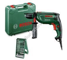 Bosch PSB 650 RE ütvefúrógép + 15 részes mini X-line szett kofferben PSB650RE 0603128005