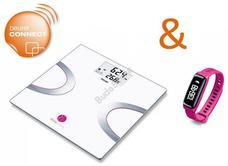 BEURER Body Shape promóciós csomag BF 710 + AS 81 rózsaszín