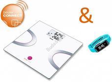 BEURER Body Shape promóciós csomag BF 710 + AS 81 türkiz