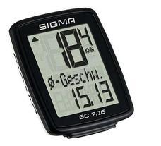 SIGMA BC 7.16 kerékpár computer