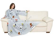 Kanguru Deluxe zsebes és belebújós takaró Snoopy