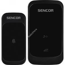 SENCOR SWD 130B vezeték nélküli digitális csengő fekete SWD130B