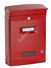 SILMEC Gioiosa piros masszív alumínium postaláda 10-400.3001