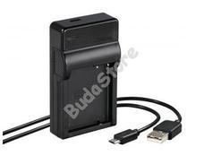 HAMA 81388 USB töltő TRAVEL Panasonic DMW-BLC12