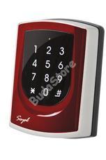 SOYAL AR-725ED-M Mifare Önálló 2 ajtós vezérlő piros fémkeret 109807
