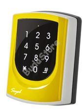SOYAL AR-725ED-M Mifare Önálló 2 ajtós vezérlő sárga fémkeret 109808