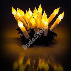 RETLUX RXL 131 LED Gyertya égősor MELEG fehér 20LED RXL131