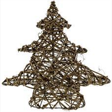 RETLUX RXL 142 Világító Rattan karácsonyfa MELEG fehér 10LED RXL142