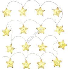 RETLUX RXL 149 Világító Rattan dekor csillag MELEG fehér 16LED RXL149