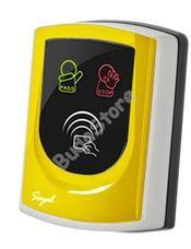 SOYAL AR-725UBM-W Közelítőkártyás segédolvasó beléptetőrendszerekhez sárga