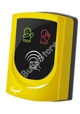 SOYAL AR-725UD Közelítőkártyás segédolvasó beléptetőrendszerekhez sárga