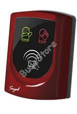 SOYAL AR-725UD-W Közelítőkártyás segédolvasó beléptetőrendszerekhez piros