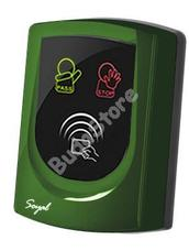SOYAL AR-725UD-W Közelítőkártyás segédolvasó beléptetőrendszerekhez zöld