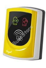 SOYAL AR-725UDM Kártyaolvasó hálózati központokhoz vagy önálló vezérlőkhöz sárga