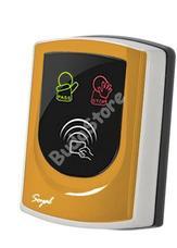 SOYAL AR-725UDM-W Kártyaolvasó hálózati központokhoz vagy önálló vezérlőkhöz narancs